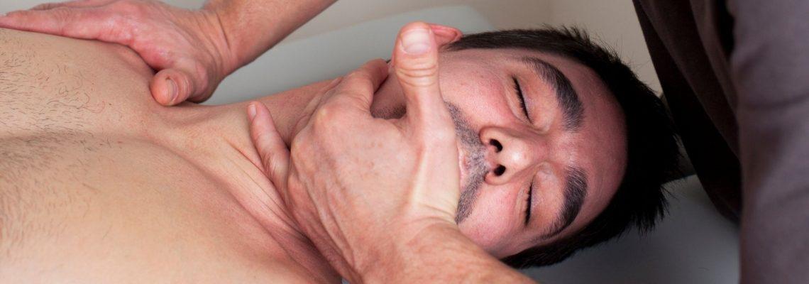 Pompage: utile per il dolore al collo?